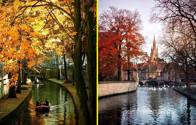 Топ 10 кращих міст Європи для подорожі восени