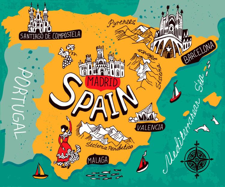 Пам'ятки Іспанії: цікаві місця для сімейного відпочинку