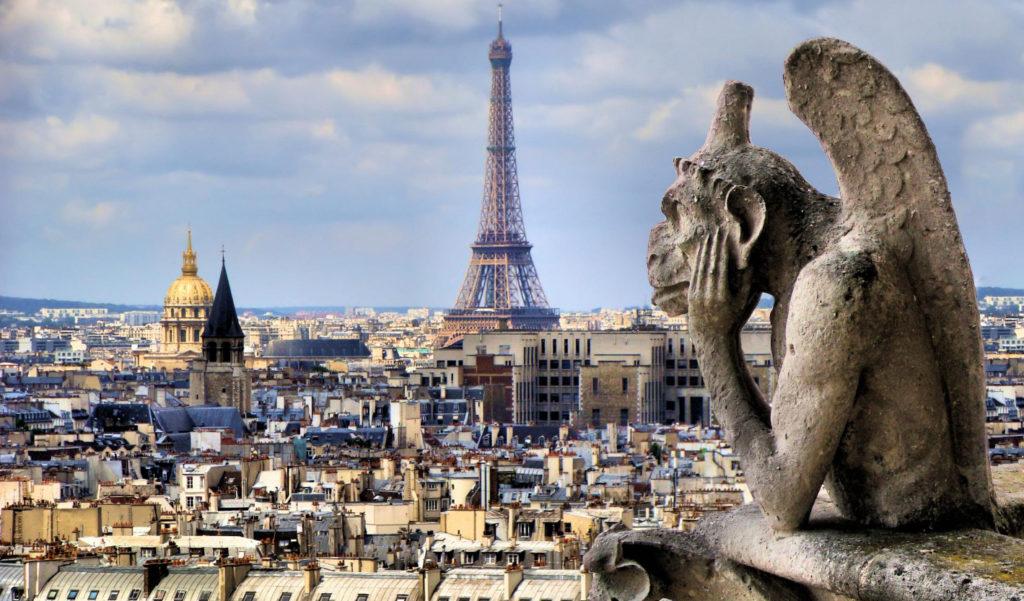 Подборка тайных романтических мест Парижа